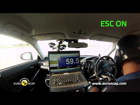 Euro NCAP | Lexus IS 300h | 2013 | ESC краш-тест