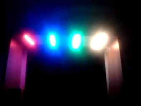 Цветомузыка из светодиодной