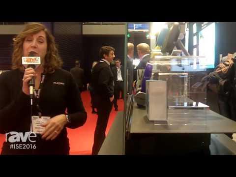 ISE 2016: Planar Discusses the LookThru Series Transparent OLED Display