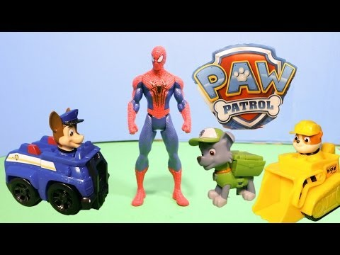 PAW PATROL Nickelodeon Paw Patrol & Disney Junior Mickey Mouse Save Spider Man