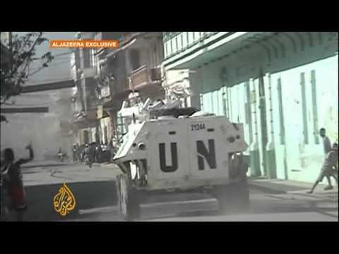 Haiti riots against UN heats up