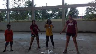 Volleyball dance