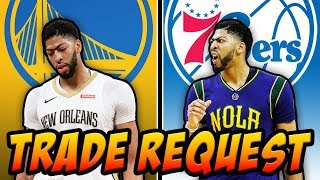 Anthony Davis Talks About Asking To Be Traded