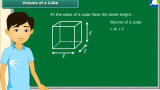 Surface area and volume of a cube