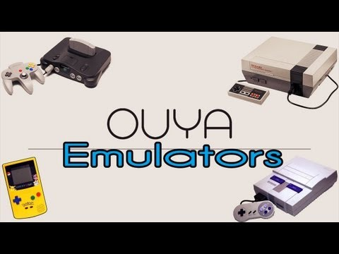 OUYA Emulator Setup/Review (NES. Super NES. N64. Gameboy)   How to Play DL ROMS(Games)