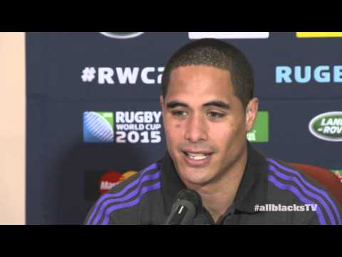 Richie McCaw, Aaron Smith and Nehe Milner-Skudder Media Conference