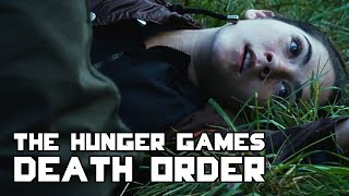The Hunger Games - Death Order