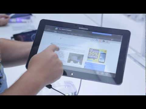 Samsung Ativ Smart PC hands-on/preview