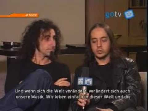 System of a Down interview on Go Tv