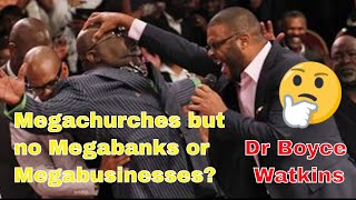 Why do Black people have mega churches, but no mega banks or mega businesses