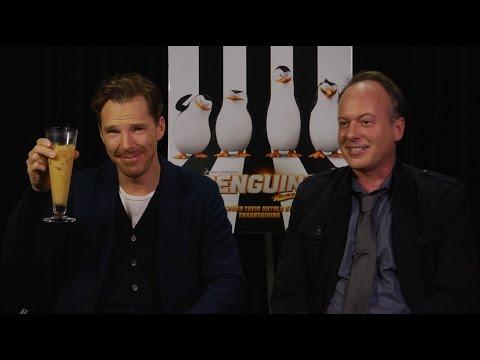 Benedict Cumberbatch Interview  With Tom McGrath: The Penguins Of Madagascar