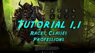 Tutorial 1.1 &#8211; Servers, Races, Professions