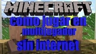 COMO JUGAR EN MULTIJUGADOR SIN INTERNET EN MINECRAFT PE 0.13.0 | TRUCOS DE MINECRAFT PE