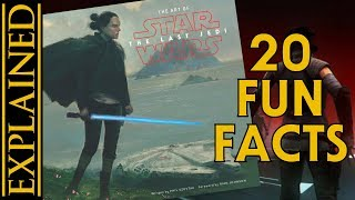 20 Fun Facts From The Art of The Last Jedi