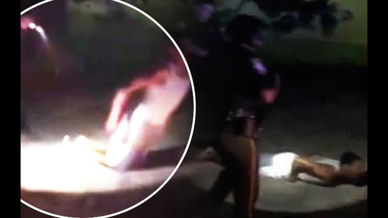 Cop Tases Kneeling Black City Councilman