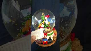 Limited Edition Christmas Santa's Elves Snow Globe Collection 2006 Musical