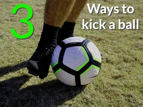 How to kick a soccer ball: 3 Ways To Kick The Ball