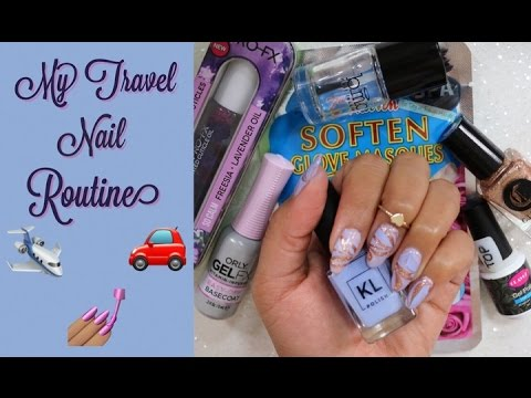 My travel nail care routine
