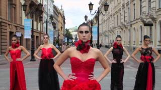 Флеш Моб  Фешен шоу в Санкт Петербурге Galeria Fashion Week 2012