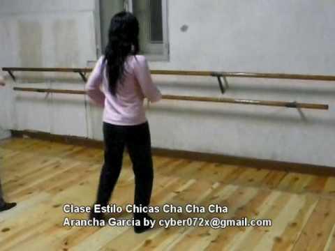 Estilo Chicas Cha cha cha www.baileonline.es