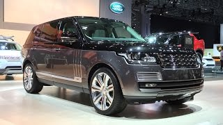 2016 Range Rover SV Autobiography - 2015 NYIAS - Fast Lane Daily
