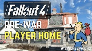Fallout 4 Mod Review - Pre-War House - Player Home (Settlement Edition)