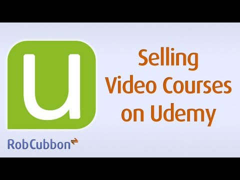 Make Money With Udemy -- Sell Your Video Courses On Udemy, The Online Learning Platform video