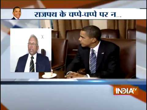 US secret agents managing Obama's security in India for Republic Day Celebrations