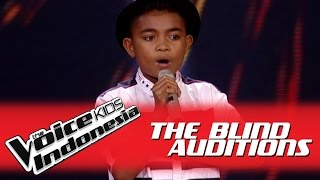 Stevanus Januari I The Blind Auditions I The Voice Kids Indonesia GlobalTV 2016