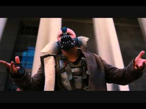 The Dark Knight Rises- Bane Tells The Truth About Harvey Dent In Front of Blackgate Prison