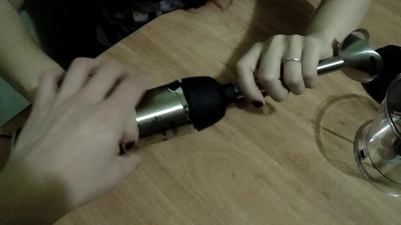Ремонт насадки блендера своими руками витек 47