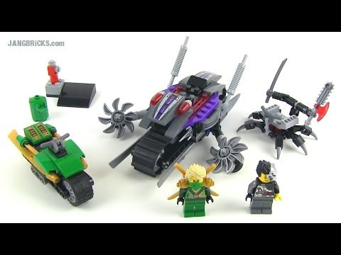 LEGO Ninjago 2014 Overborg Attack 70722 full Review!