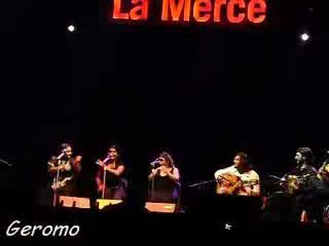 La Tana, Conchi Heredia y Montse Cortés- Bulerías -Fiestas de la Mercé 2008