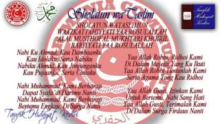 Teks Sholatun wa Taslim - Habib Ja'far bin Ustman Al Jufri (Al Ikhwan) + MP3