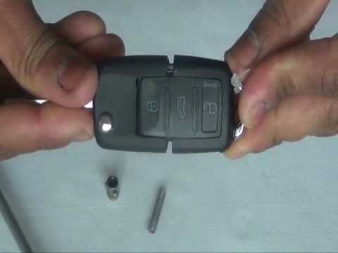 How to change VW Passat S Key Fob