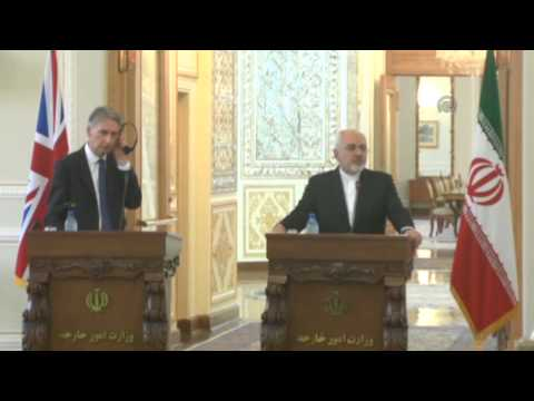 British FM Philip Hammond in Iran 1