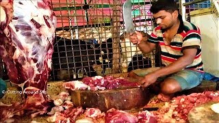 Fresh Beef Fillet | Cow Meat Chopping at Gulshan 1, Dhaka, Bangladesh | Fresh Cow Meat Fillet 2017