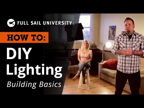 diy make your own basic lighting kit at home youtube