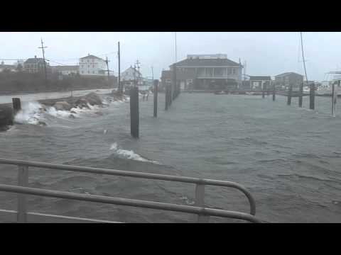 Sandy hits Block Island