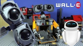 LEGO Ideas WALL•E Mini Film and Stop Motion Build