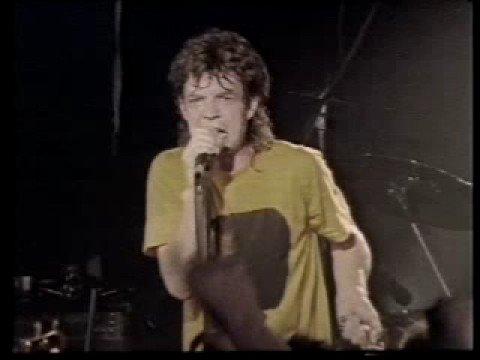 Mick Jagger from Rolling Stones plus Joe Satriani Corner Hotel Melbourne