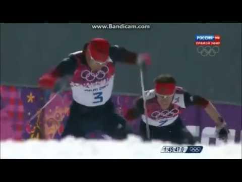 Легендарная победа наших лыжников.