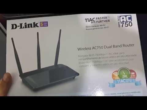 Roteador D-Link dir 809 wireless AC 750 Dual band