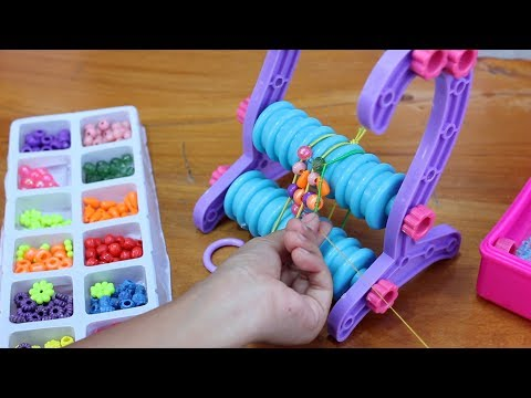 Unboxing Mainan Anak My Pod Jewerly Machine - Jewelry Set Toys - Membuat Gelang Sendiri
