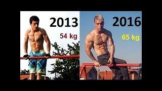 Insane 3 Years Street Workout Transformation - Zoran Pesterac From Zero To Hero
