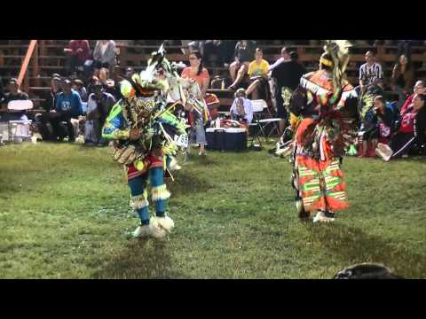 Adult Chicken Dancers In Red Lake July 2013 video