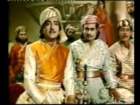 Mohd  Rafi Kisiki yaad mein duniya ko hai    in Jahan Ara22