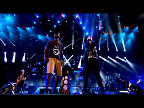 The Script ft. Tinie Tempah - Written in The Stars (Live at the Aviva Stadium) HD