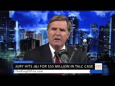 Jury Hits J&J with $55 Million Verdict For Talcum Powder Cancer Link - Lawsuit News