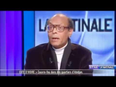 moncef marzouki sur une tele francaise 13 01 2011